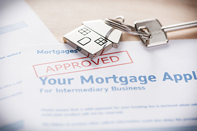 image of an approved mortgage loan